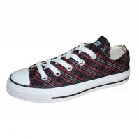 Tenisi femei CT PLAID PKG OX Red Converse
