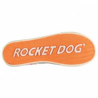 Tenisi panza Rocket Dog Jazzin pentru Femei rosu dungi