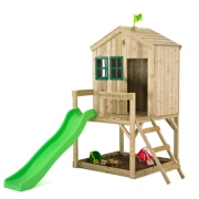 TP Toys Forest Cottage Playhouse With Slide