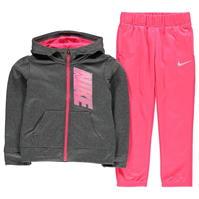 Trening cu fermoar Nike Therma Child pentru fete