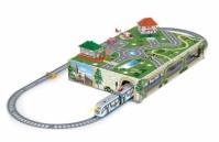 Trenulet Electric De Jucarie Pentru Copii Tramvai Metropolitan Pequetren 107