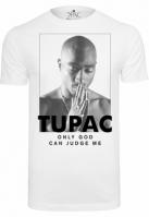 Tricou 2Pac Prayer alb Mister Tee