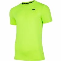 Mergi la Tricou 4F Lush verde Neon NOSH4 TSMF002 45N pentru Barbati