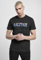 Tricou Aaliyah Snake negru Merchcode