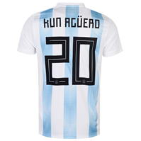 Tricou Acasa adidas Argentina Kun Aguero 2018
