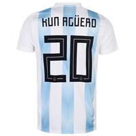 Tricou Acasa adidas Argentina Kun Aguero 2018 pentru copii