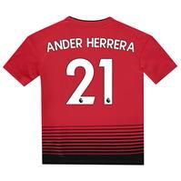 Tricou Acasa adidas Manchester United Ander Herrera 2018 2019 pentru copii