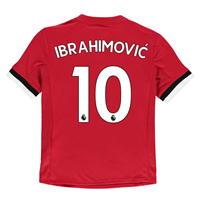 Tricou Acasa adidas Manchester United Ibrahimovic 2017 2018 pentru copii