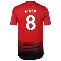 Tricou Acasa adidas Manchester United Juan Mata 2018 2019