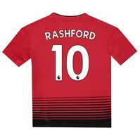 Tricou Acasa adidas Manchester United Marcus Rashford 2018 2019 pentru copii
