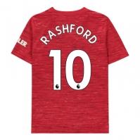 Tricou Acasa adidas Manchester United Marcus Rashford 2020 2021 pentru copii