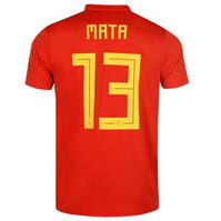 Tricou Acasa adidas Spain Mata 2018