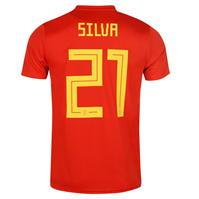 Tricou Acasa adidas Spain Silva 2018