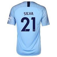 Tricou Acasa Nike Manchester City David Silva 2018 2019