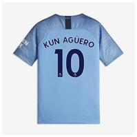 Tricou Acasa Nike Manchester City Sergio Aguero 2018 2019 pentru copii