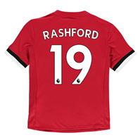 Tricou Acasa adidas Manchester United Rashford 2017 2018 pentru copii