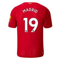 Tricou Acasa New Balance Liverpool Madrid 19 pentru copii