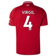Tricou Acasa New Balance Liverpool Virgil Van Dijk 2018 2019