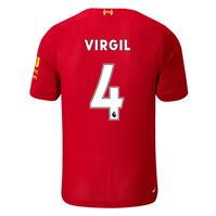 Tricou Acasa New Balance Liverpool Virgil van Dijk 2019 2020 pentru copii
