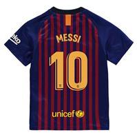 Tricou Acasa Nike Barcelona Lionel Messi 2018 2019 pentru copii