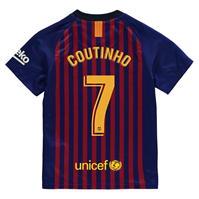 Tricou Acasa Nike Barcelona Philippe Coutinho 2018 2019 pentru copii