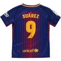 Tricou Acasa Nike FC Barcelona Suarez 2017 2018 pentru copii