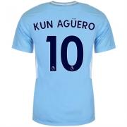Tricou Acasa Nike Manchester City Kun Aguero 2017 2018