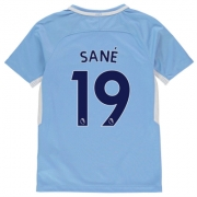 Tricou Acasa Nike Manchester City Sane 2017 2018 pentru copii