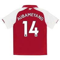 Tricou Acasa Puma Arsenal Pierre Emerick Aubameyang 2017 2018 pentru copii