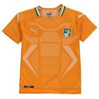 Tricou Acasa Puma Ivory Coast 2018 pentru copii