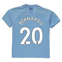 Tricou Acasa Puma Manchester City Bernardo Silva 2019 2020 pentru copii