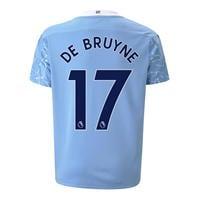 Tricou Acasa Puma Manchester City Kevin de Bruyne 2020 2021 pentru copii
