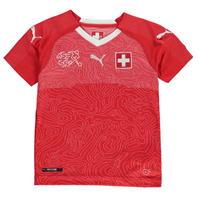 Tricou Acasa Puma Switzerland 2018 pentru copii