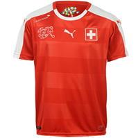Tricou Acasa Puma Switzerland pentru copii