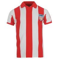 Tricou Acasa Score Draw Retro Sunderland AFC 1978 pentru Barbati