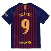 Tricou Acasa Team Barcelona Luis Suarez 2018 2019 pentru copii