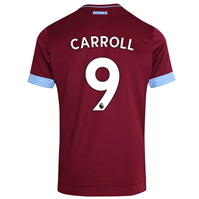 Tricou Acasa Umbro West Ham United Andy Carroll 2018 2019 pentru copii