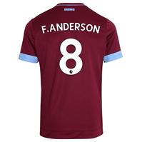 Tricou Acasa Umbro West Ham United Felipe Anderson 2018 2019