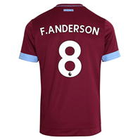 Tricou Acasa Umbro West Ham United Felipe Anderson 2018 2019 pentru copii