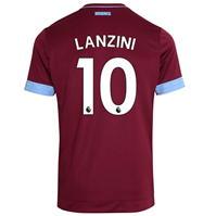 Tricou Acasa Umbro West Ham United Manuel Lanzini 2018 2019