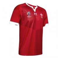 Tricou Acasa Under Armour Wales RWC 2019