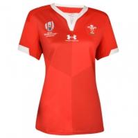 Tricou Acasa Under Armour Wales RWC 2019 pentru Femei