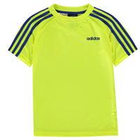 Tricou adidas 3 cu dungi Sereno pentru baietei