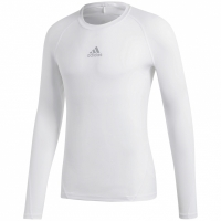 Bluza maneca lunga barbati adidas Alphaskin Sport alb CW9487 teamwear adidas teamwear
