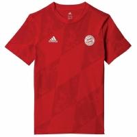 Tricou Adidas Bayern Munchen rosu BJ8453 pentru copii