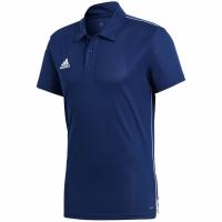 Tricou adidas Core 18 Polo bleumarin CV3589 barbati teamwear adidas teamwear