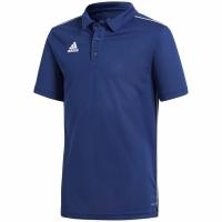 Tricou adidas CORE 18 POLO bleumarin CV3680 copii teamwear adidas teamwear