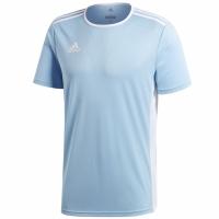 Tricou Adidas Entrada 18 albastru deschis CD8414 copii teamwear adidas teamwear