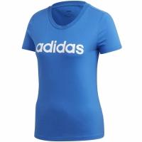 Mergi la Tricou Adidas Essentials Slim T albastru FM6425 pentru femei