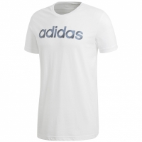 Tricou Adidas Sliced Linear alb barbati CV4510